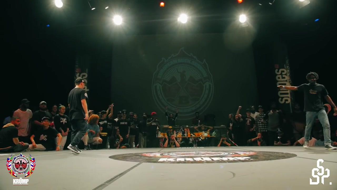 【KRUMP】Rumbler vs No Script  Male 18Final  EBS KRUMP WORLD CHAMPIONSHIP 2016